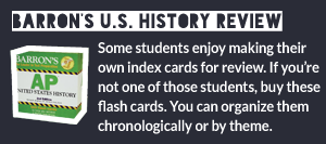 Barron's U.S. History Flash Cards